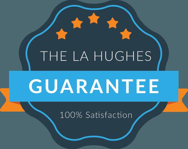 la hughes guarantee logo - L A Hughes Guarantee